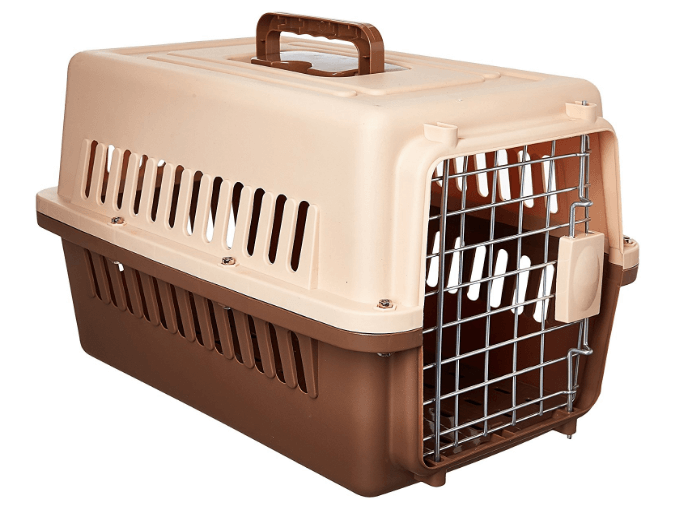 Paw Essentials 19 inch Dog and Cat Pet Carrier and Travel Crate