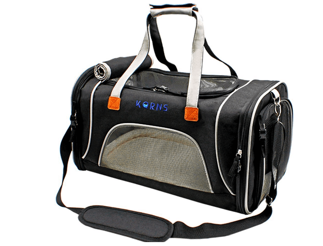 Pet Carrier for Dogs & Cats-Airline Approved Travel Pet Carrier