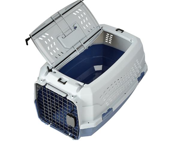 Pet Kennel with 2-Door Design