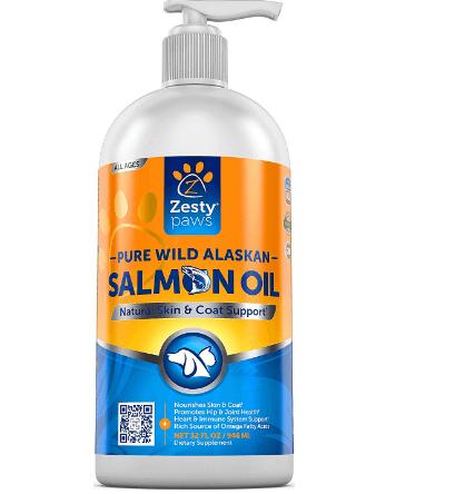 Pure Wild Alaskan Salmon Oil for Dogs