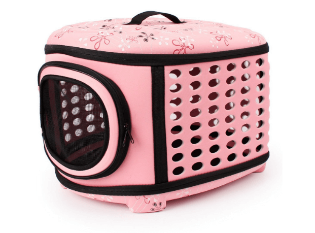 QZBAOSHU Pet Carriers for Dog & Cat Portable Traveling Kennel