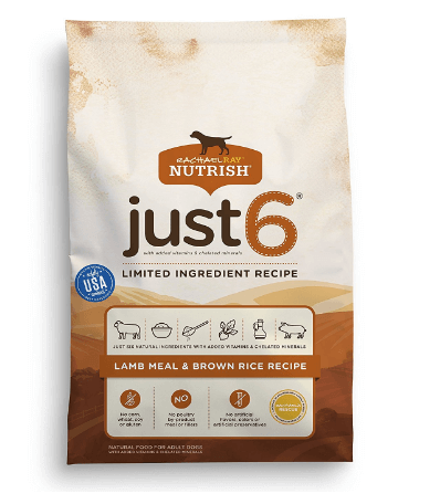 Rachael Ray Nutrish Just 6 Natural Dry Dog Food