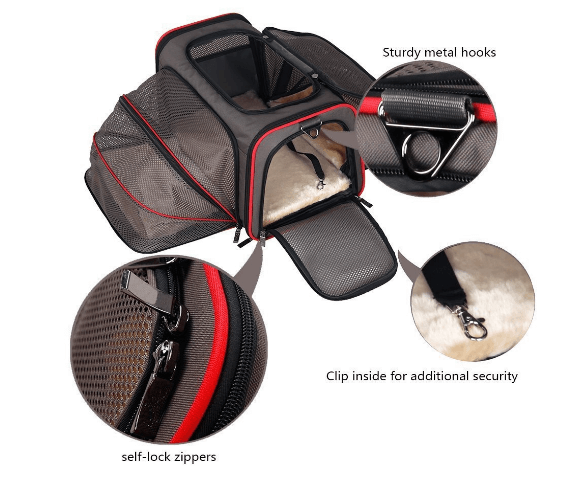 The Original Airline Approved Expandable Pet Carrier