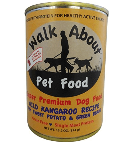Walk About Pet Food Kangaroo with Sweet Potato & Green Beans