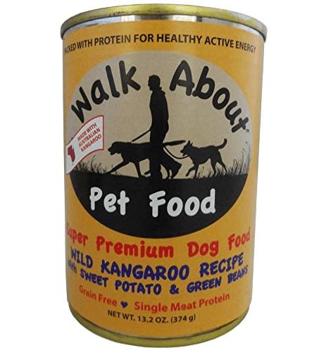 Walk About Pet Food Kangaroo with Sweet Potato & Green Beans