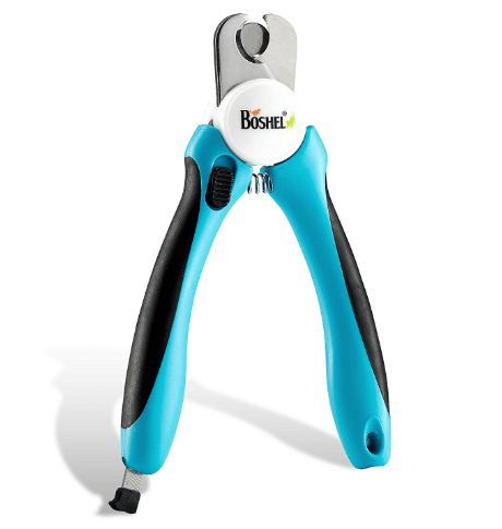 BOSHEL Dog Nail Clippers and Trimmer By With Safety Guard