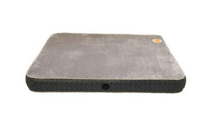 KH Mfg Superior Orthopedic Bed Small Gray