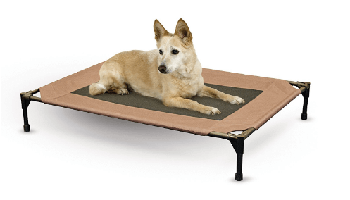 K&H Pet Products Original Pet Cot Elevated Pet Bed Large Chocolate