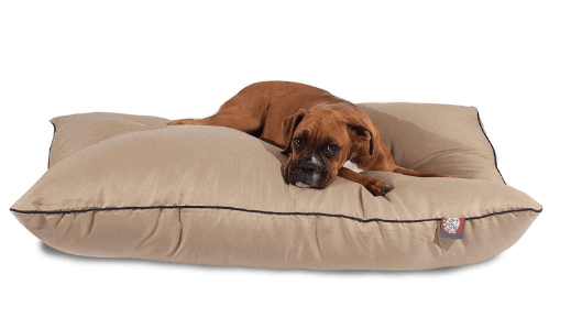 Khaki Super Value Pet Dog Bed