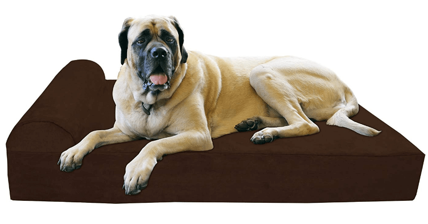 Orthopedic Dog Bed with Pillow-Top