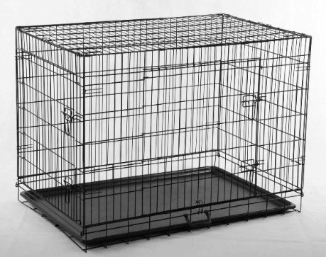 Pet Folding Dog Cat House Crate Cage Kennel