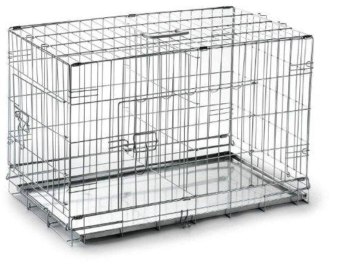 Extra Small Portable Dog Crate Cage with Divider
