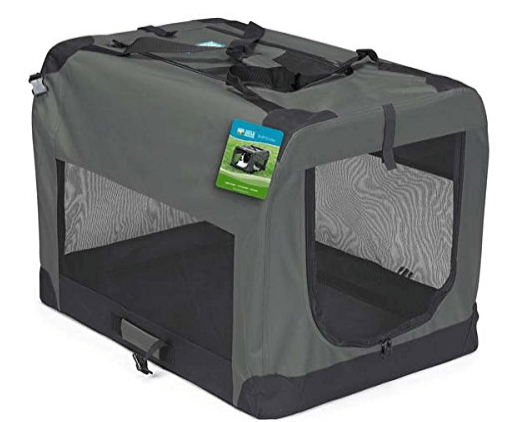 Guardian Gear Nylon and Steel Soft-Sided Collapsible Dog Crate