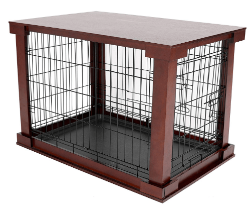 Large cage with crate cover