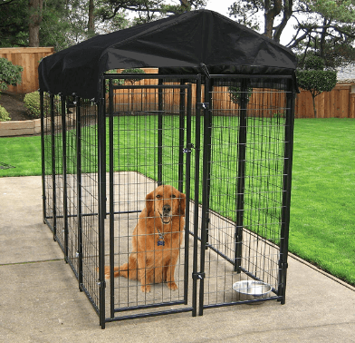Lucky Dog Heavy Duty Dog Cage Outdoor Pet