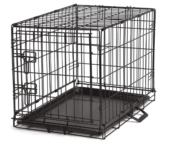 ProSelect Easy Dog Crates for Dogs and Pets Black Medium Large