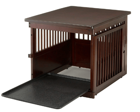 Richell Wooden End Table Crate
