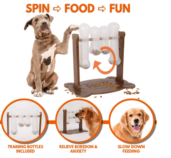 Interactive Dog Food Puzzle Toy