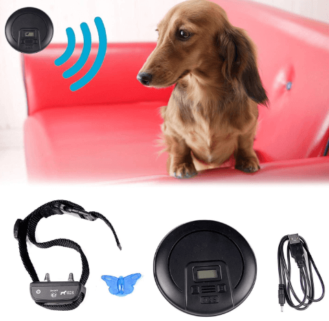 PENSON CO Digtal Wireless Indoor Pet Barrier Electronic Dog Fence Wireless