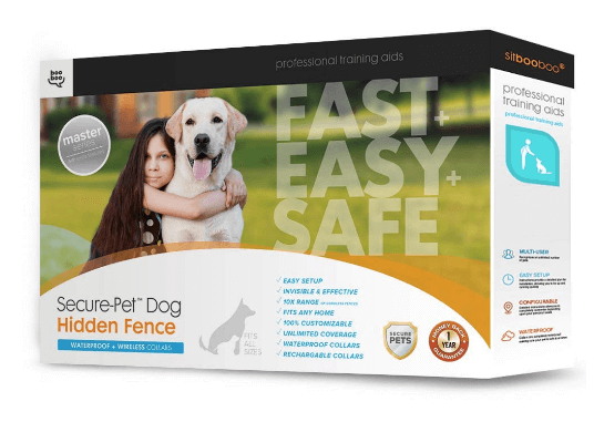 Sit Boo-Boo Secure-Pet Invisible Dog Fence