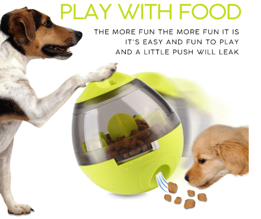 Wellood Dog Treat Dispenser Ball Toy