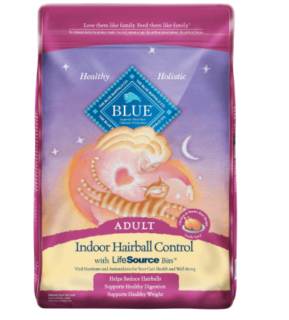 Blue Buffalo Indoor Hairball Control Natural Adult Dry Cat Food