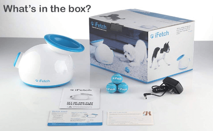Unboxing iFetch Dog Ball Launcher