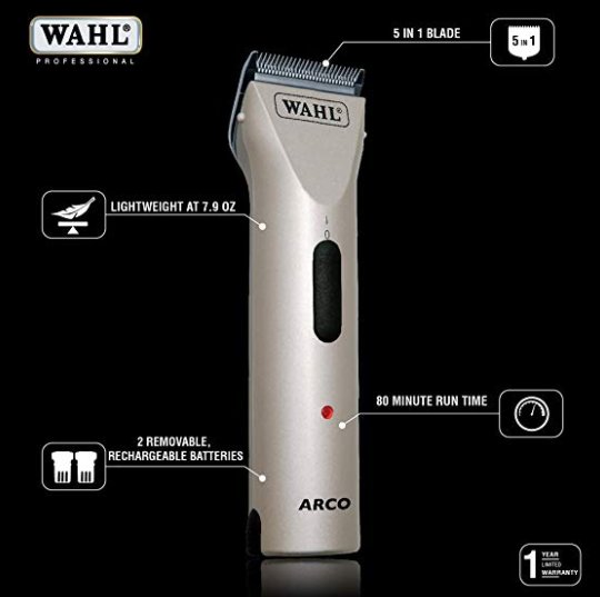 Wahl Arco SE professional cordless pet clipper